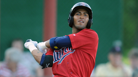 Elizabethton's Eddie Rosario led the Appy League with 21 homers.